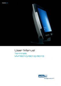 VMT6010/6012/6015 User Manual EN V1 3