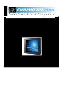 Indumicro com IMP-A122, IMP-A152, IMP-A172 and IMP-A192 User Manual