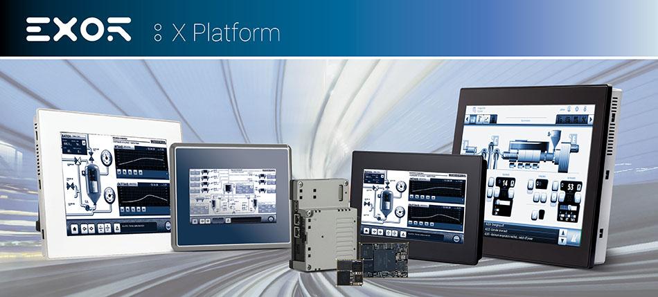 EXOR operatørpaneler for bygg, industri og skipsmarkedet