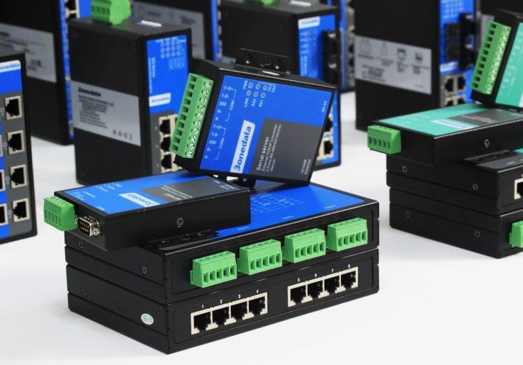 Switcher & nettverksutstyr fra 3onedata