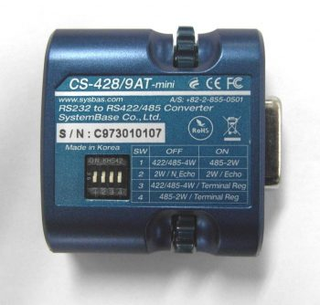 RS232 til RS-422/485 konverter