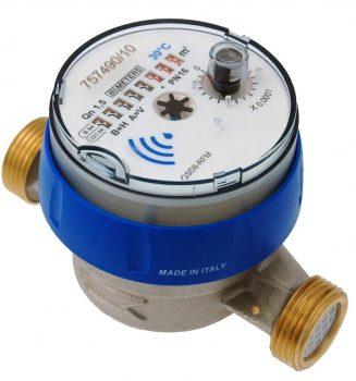 Kaldtvannsmåler GSD8-RFM Q3=2,5 DN15x80 mm
