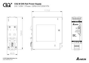 120W kraftforsyning 24VDC, DNV godkjent
