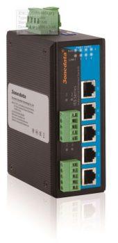 5 ports 10/100Base-T(X) + 2 RS485 porter