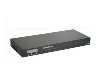 Ethernet til 16 x RS232/422/485  (RJ45)