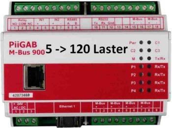 Oppgradering av PiiGab 900 fra 5 - 120 lastenheter
