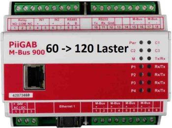 Oppgradering av PiiGab 900 fra 60 - 120 lastenheter