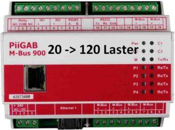 Oppgradering av PiiGab 900 fra 20 - 120 lastenheter
