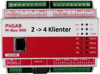 Oppgradering av PiiGab 900 fra 2 klient til 4 klienter