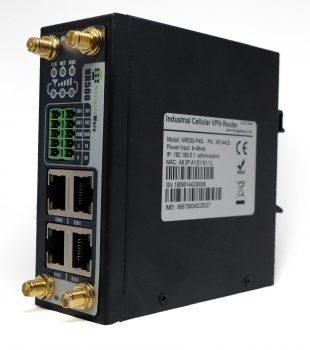 4G Router med 4 stk. ETH, 2 stk.serieporter og 2 stk. SIM