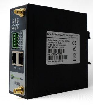 4G Router med 2 stk. ETH, 2 stk.serieporter og 2 stk. SIM