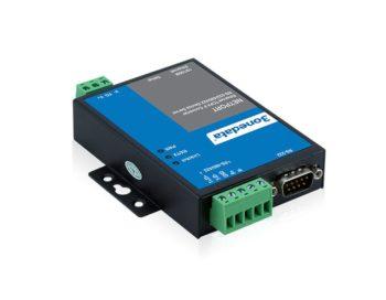 1 port RS232/485/422 til Ethernet, DC12-48V