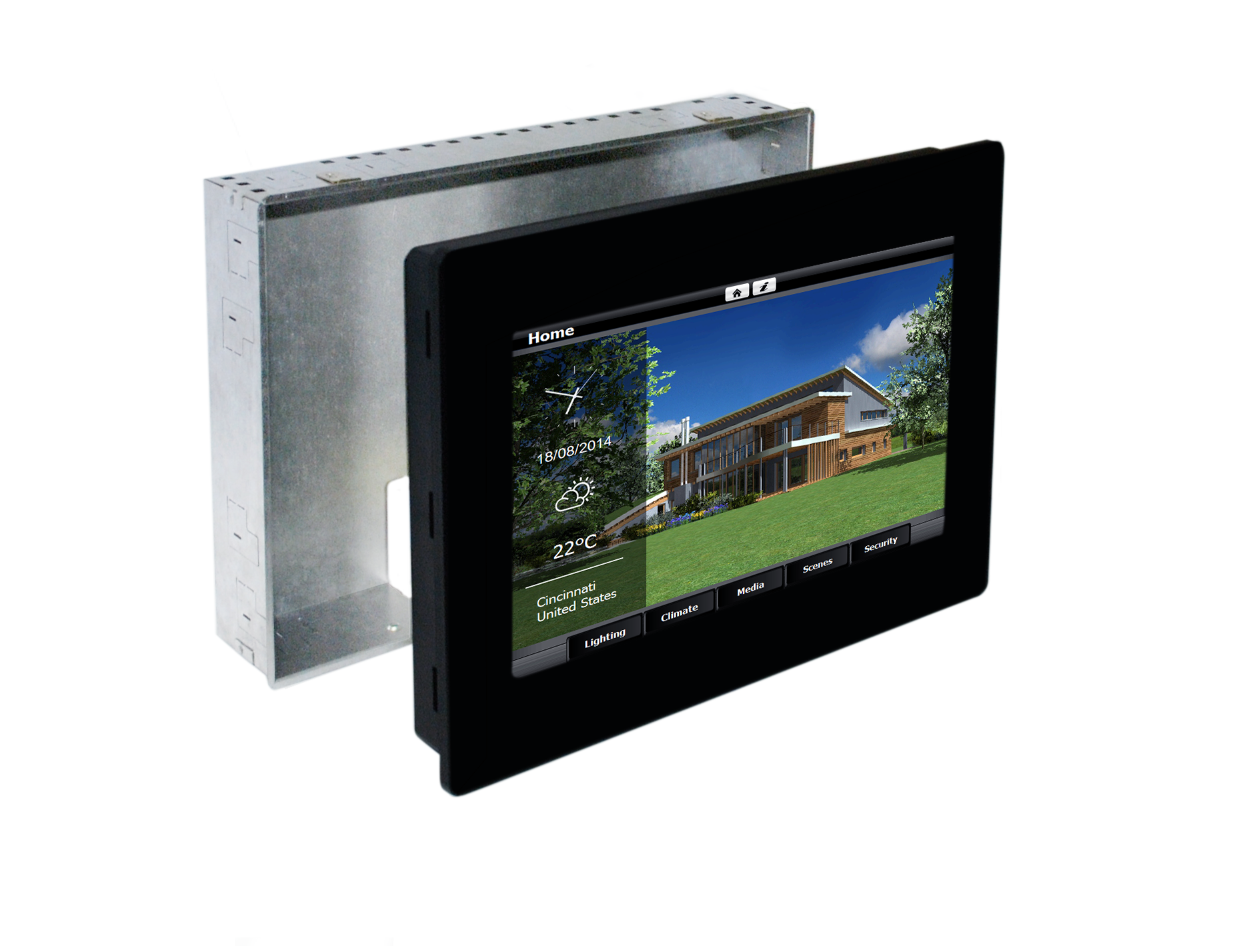 BOX10-01 WALL MOUNT BOX FOR eSMART10