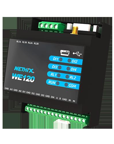 GSM/SMS modem med I/O (4DI+2AI+2DO)